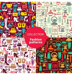 Fashion patterns vector