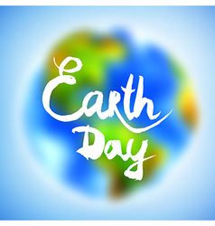 Banner for earth day vector