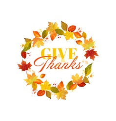 Happy thanksgiving day background vector