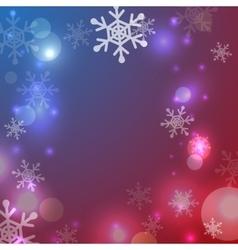 Greeting christmas frame vector image vector image