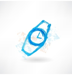 watches grunge icon vector image