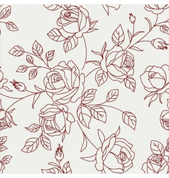 Wallpaper floral vector