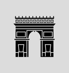 Arc De Triomphe vector image