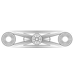 Letterhead vector image vector image