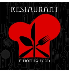 Restaurant and gastronomy vector image