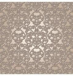 Vintage lattice pattern vector image vector image