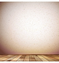 Wooden interior background plus EPS10 vector image
