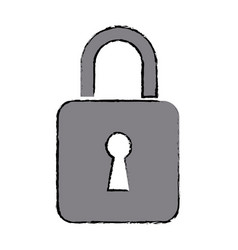 Security protection information lock technology vector