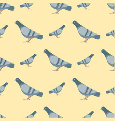 Dove flying bird seamless vector
