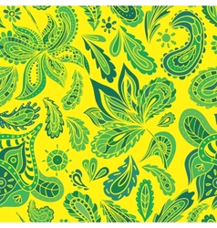 Bright summer textile pattern vector