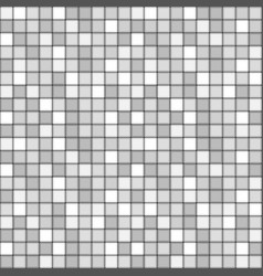 Square tile with grey colors seamless pattern vector