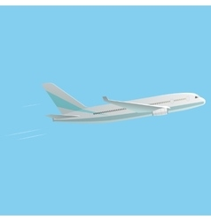 Best Passenger Airplane vector image
