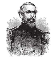 General j h hobart ward vintage vector