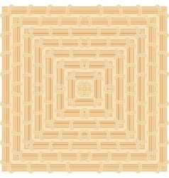 Geometric pattern color of maple wood vector