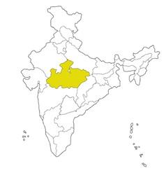 Madhya pradesh vector