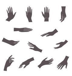 Hands icon vector