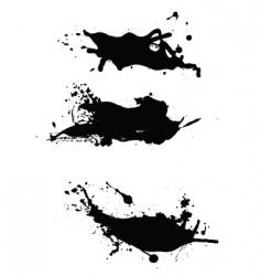 splashes pack vector image