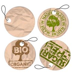 Organic healthy food vector