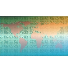 Abstract security background vector