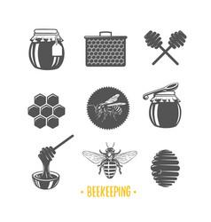 beekeeping vector image