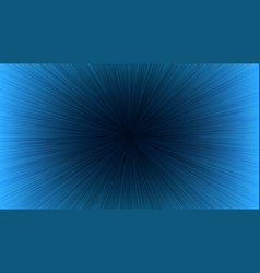 black light speed line burst ray on blue vector image