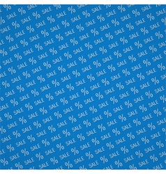 Blue sale background vector