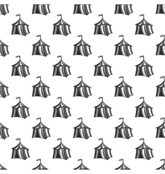 Knights tent seamless pattern vector