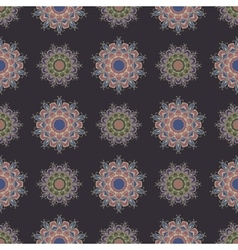 The boho style seamless pattern vector