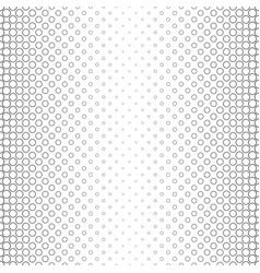 Monochrome circle pattern - geometric abstract vector