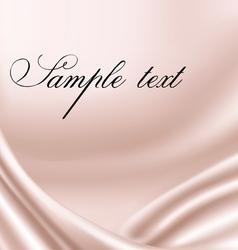 elegant pink satin texture vector image vector image