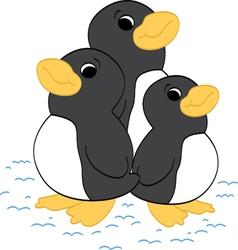 Penguin Friends vector image
