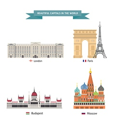 Wold capital city 02 vector