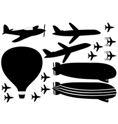 Fly vehicles vector
