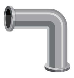 Pipeline piece icon cartoon style vector
