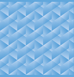 geometric pattern with blue rectangles vector image