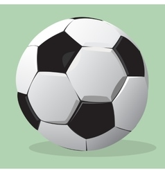 Football ball realistic vector image