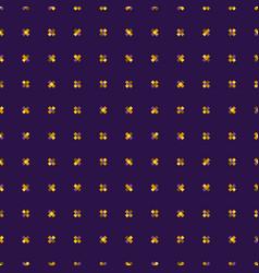 Pattern pixel crosses vector