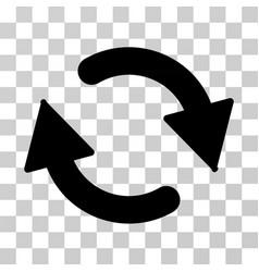 refresh icon vector image vector image