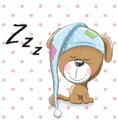 Sleeping Dog vector image vector image