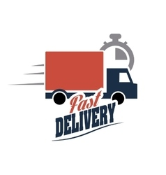 Truck icon Delivery and Shipping graphic vector image vector image