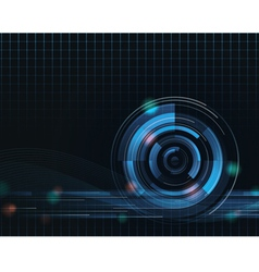 abstract background eight vector image vector image