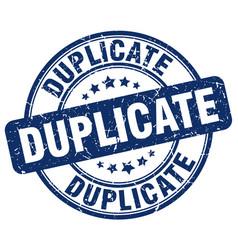 Duplicate stamp vector