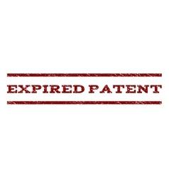Expired Patent Watermark Stamp vector image
