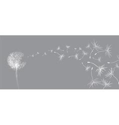 Flower dandelion sketch vector