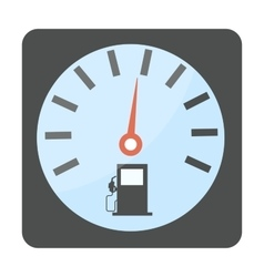 Gas oil station icon vector image