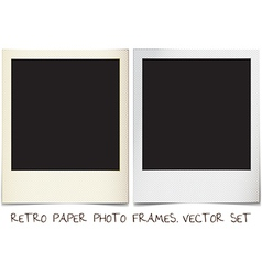 Photo frames vector