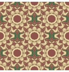 Seamless pattern the style boho vector