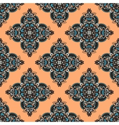 Seamless tribes damasc pattern vector