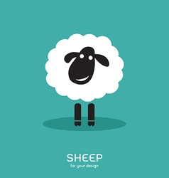Image of a sheep design vector