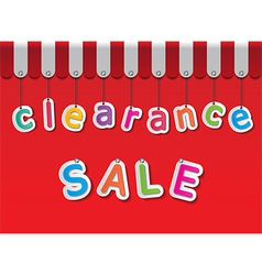 Clearance sale vector